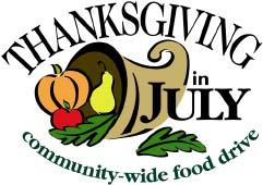 thanksgiving in july logo